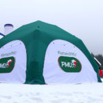Photo AIRSYSTEMS FRANCE - TENTE GONFLABLE AIRSOLID 5 M X 5 M - PMU - AIRSOLID - TENTES GONFLABLES