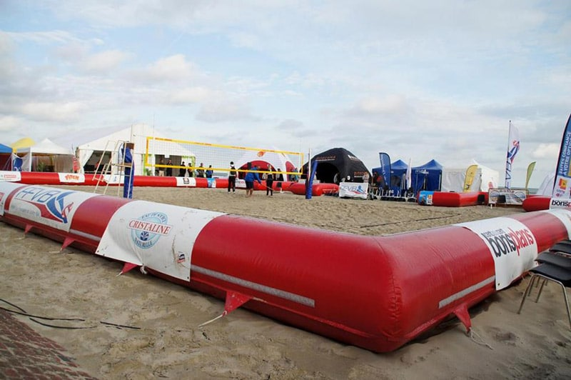Photo AIRSYSTEMS FRANCE - STRUCTURES GONFLABLES BEACH TOUR - BEACH TOUR - AIRSTYLE - STRUCTURES SPORTIVES GONFLABLES