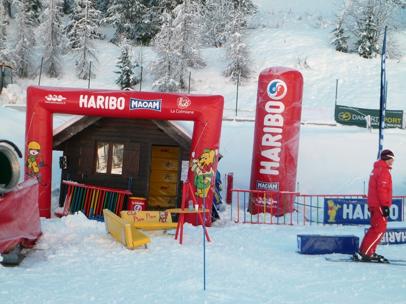 Photo AIRSYSTEMS FRANCE - ARCHE GONFLABLE HARIBO - HARIBO - AIRSTYLE - ARCHES GONFLABLES