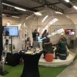 Stand Bulle gonflable transparente - Com' en Or Day 2019