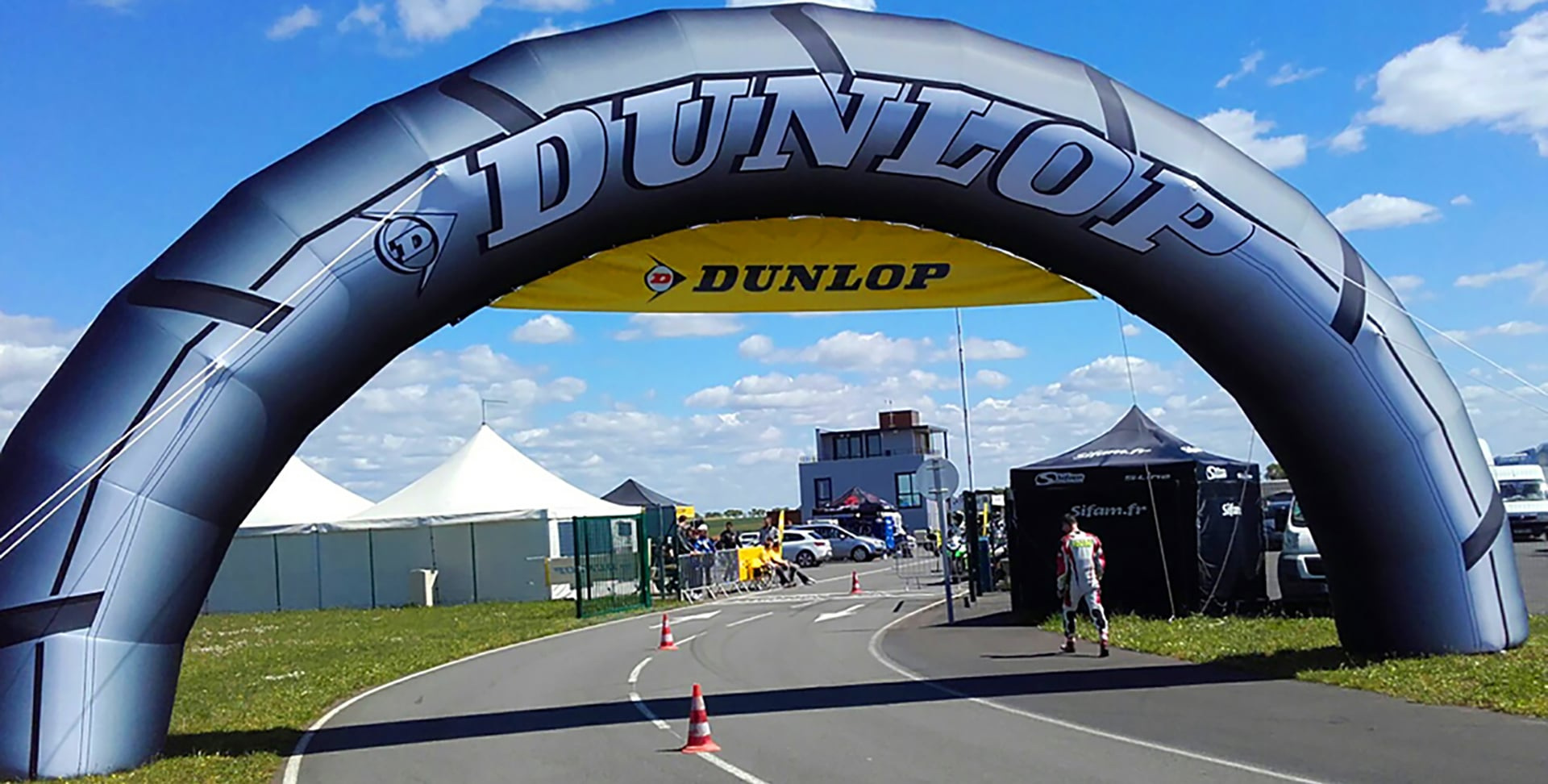 AIRSYSTEMS-AIRSTYLE-Dunlop-Arche-gonflable-13×6.50m