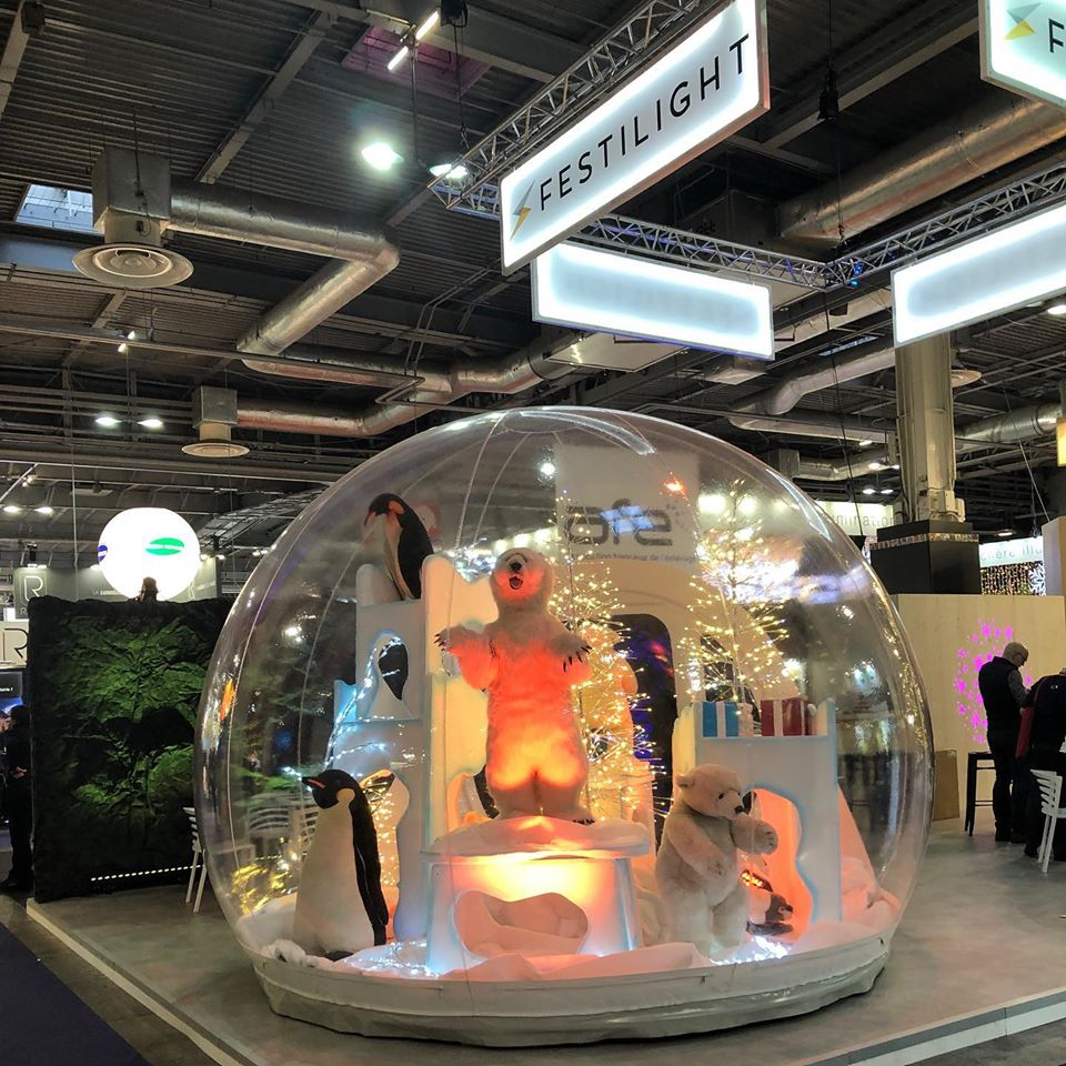 AIRSYSTEMS - FABRICANT DE STRUCTURES GONFLABLES : VITRIBULLE-GONFLABLE - FESTILIGHT