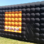 Stands gonflables : Stand gonflable publicitaire Orange